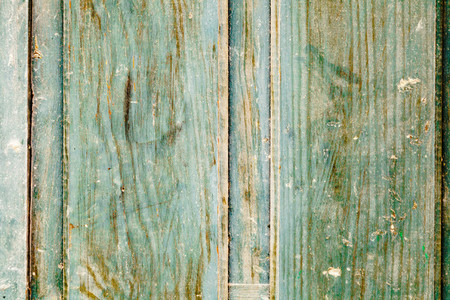 Close up green wooden door texture