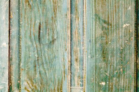 Close up green wooden door texture