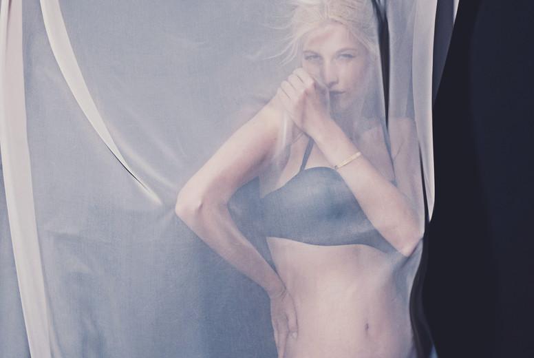 Model In Lingerie