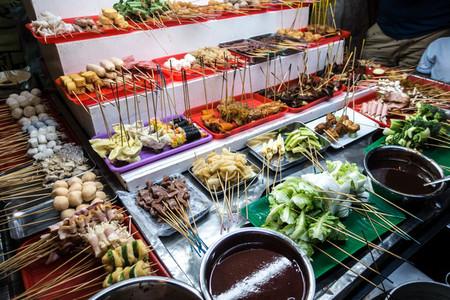 Malaysian lok lok hot pot