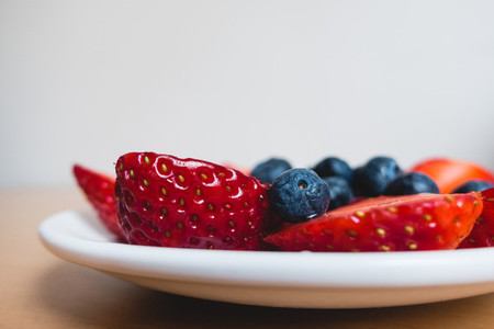 Plate of berries