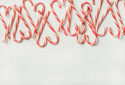 Christmas holiday candy cane pattern texture and background copy space