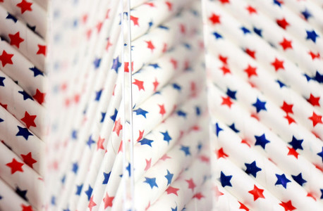 Patriotic abstract pattern