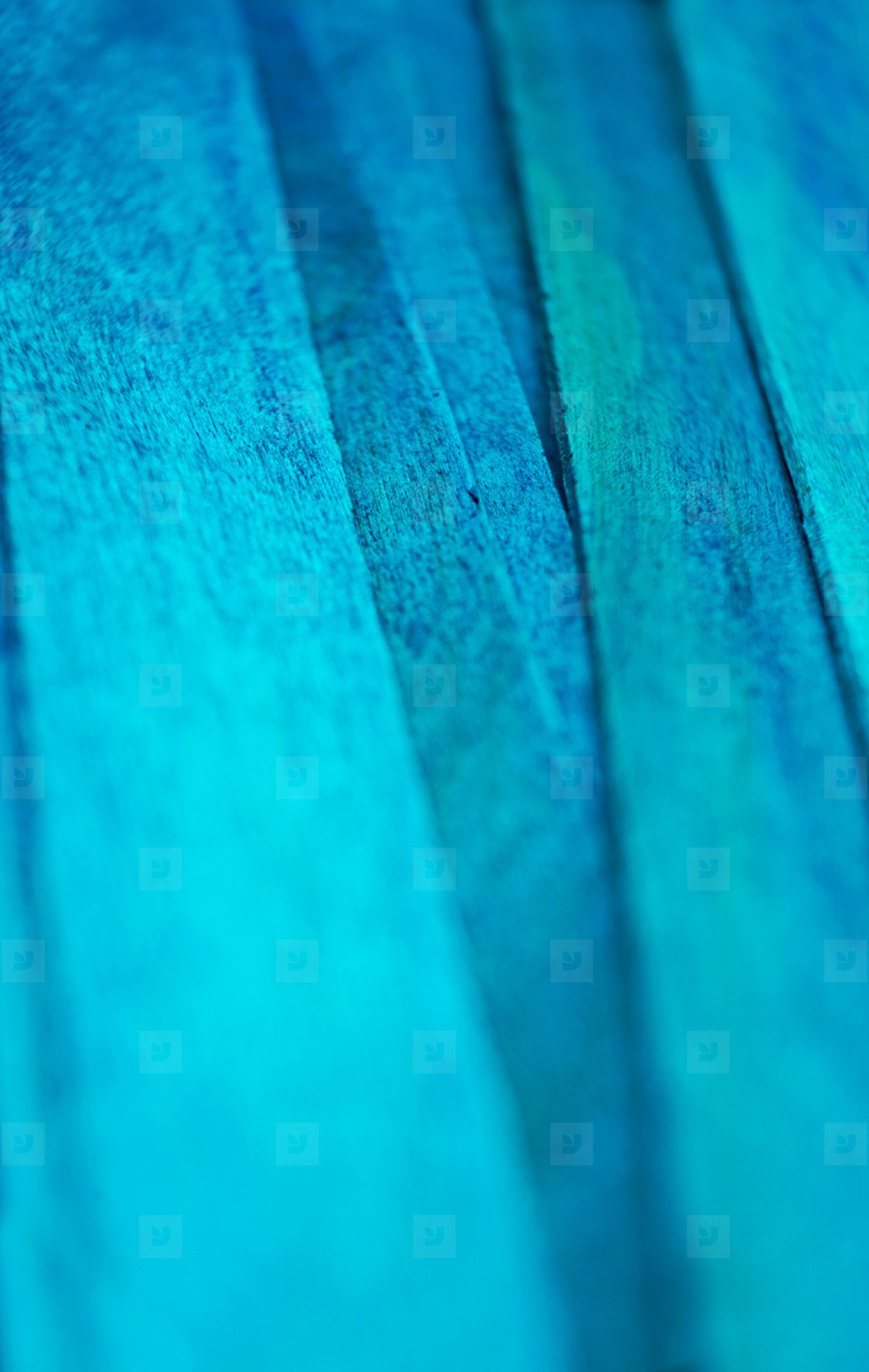 Blue abstract wooden background