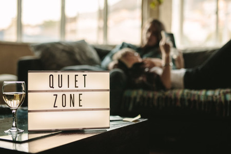 Quiet zone inside a home
