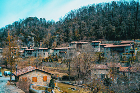 A view of the village of Rupit