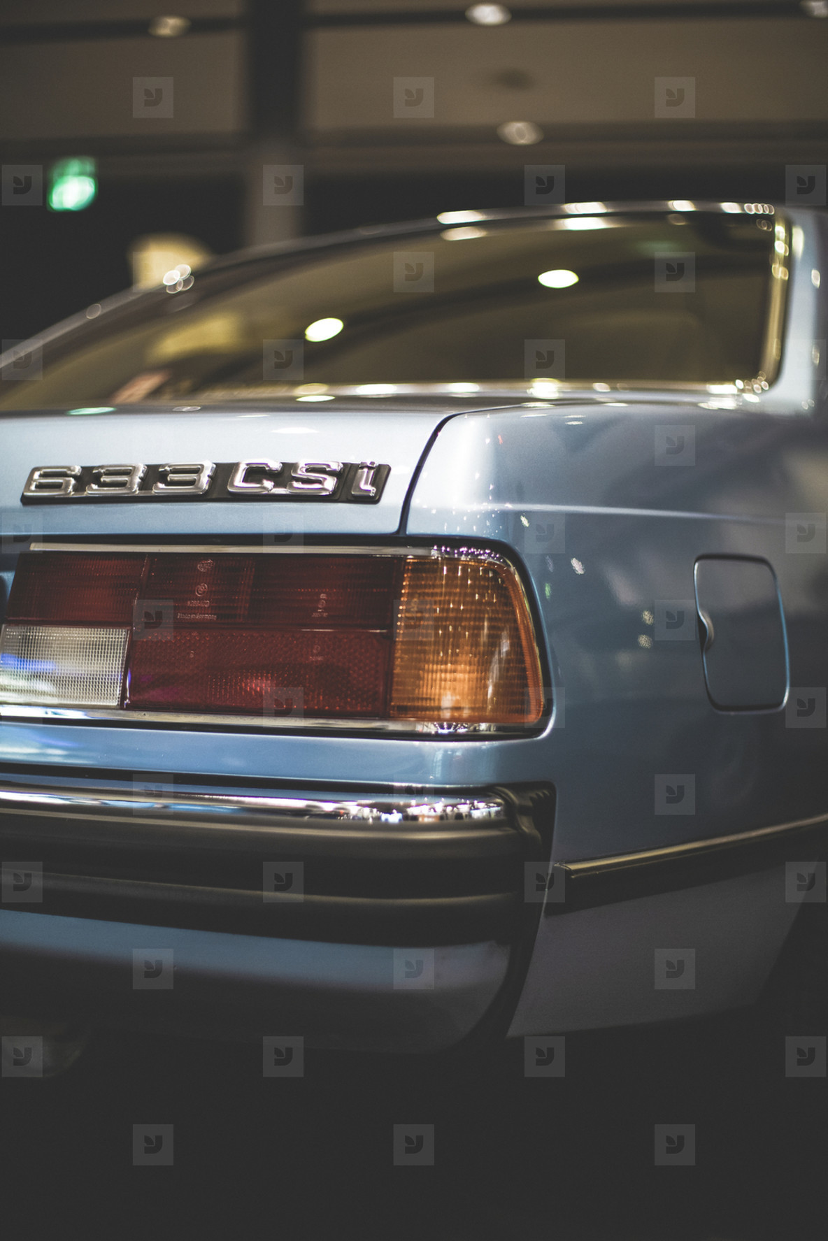 BMW 633 CSI Vintage Oldtimer