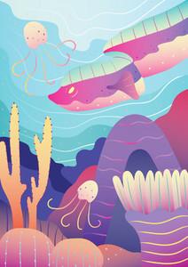 Underwater Creatures 06
