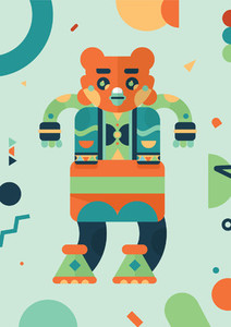 Robot Monster Creatures 01