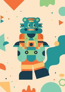 Robot Monster Creatures 02