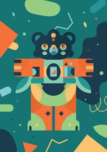 Robot Monster Creature 03