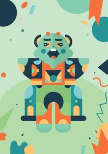 Robot Monster Creatures 04