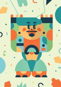 Robot Monster Creatures 10
