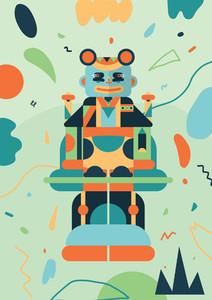 Robot Monster Creatures 18
