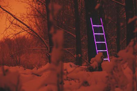 Neon Exit Enter
