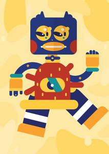 Robot Monster Creatures 36