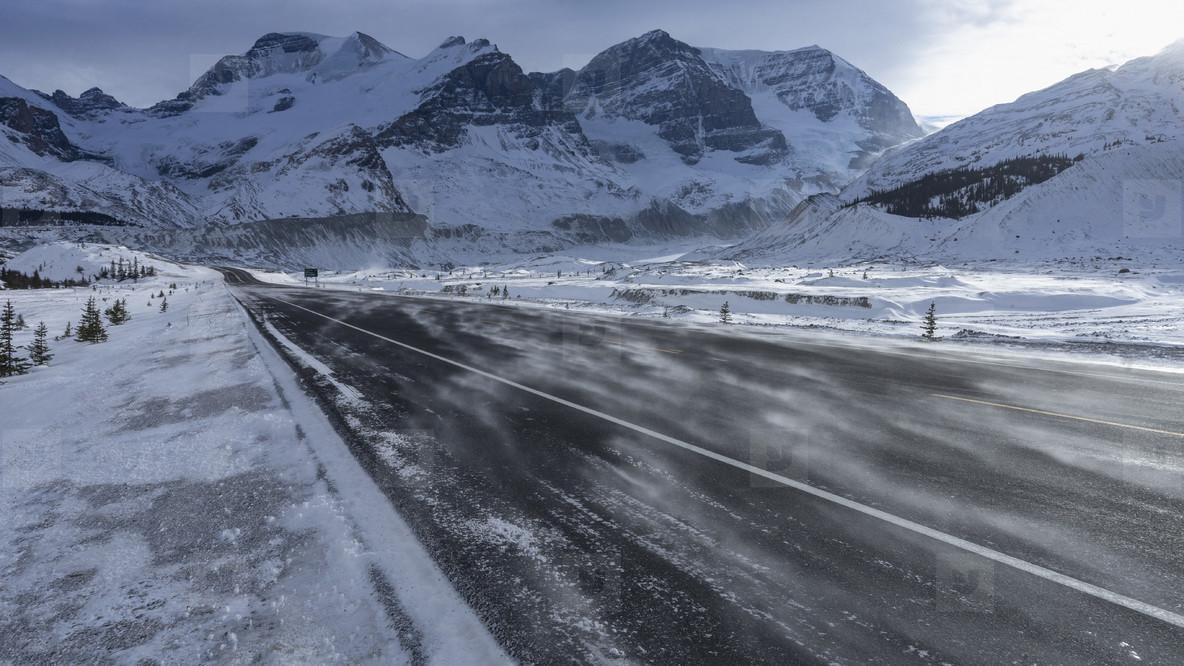 Snowy Mountain Scenes  09