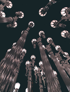 LACMA at night