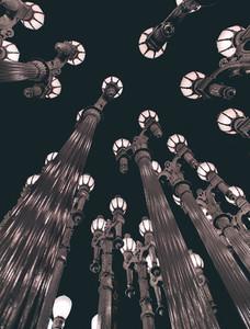 LACMA at night