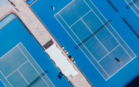 Tennis Courts from Above 05