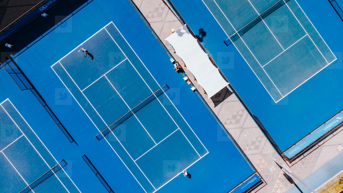 Tennis Courts from Above 04