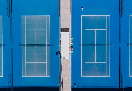 Tennis Courts from Above 03
