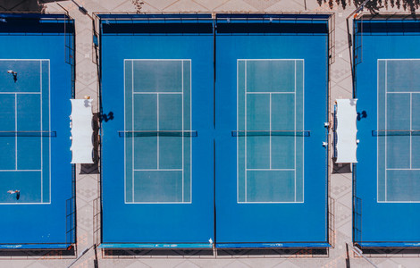 Tennis Courts from Above 02