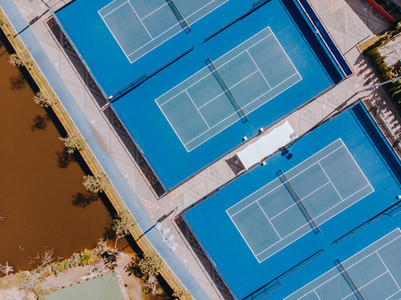 Tennis Courts from Above 01