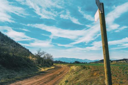 A sunny rural landscape
