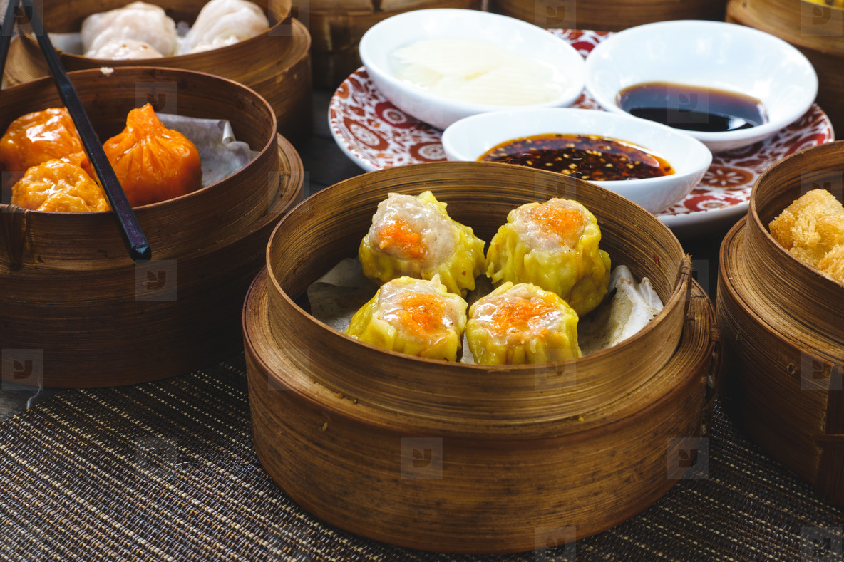 Chinese steamed and fried buns