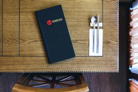 Choosing from menu in restaurant