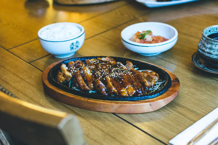 Korean crispy duck