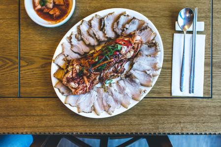 Korean pork brisket