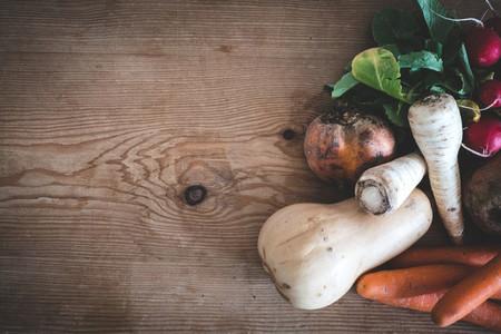 Organic root crops
