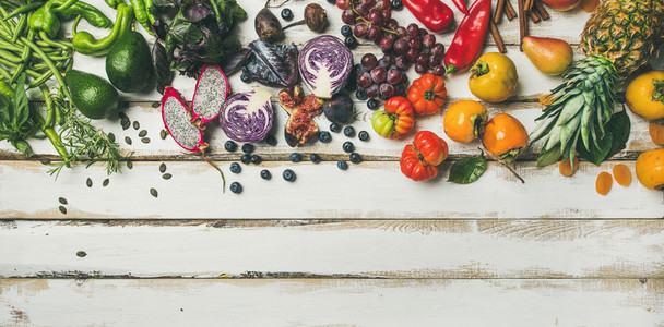 Helathy raw vegan food cooking background