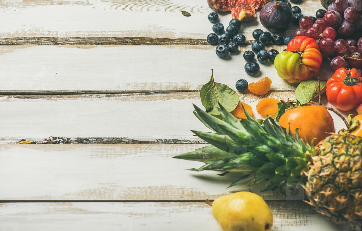 Helathy raw vegan food cooking background  selective focus