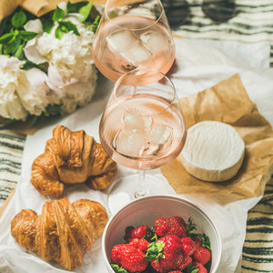 French style romantic summer picnic setting square crop