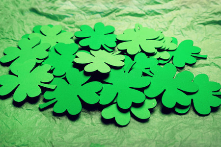 Clovers background about a saint patricks day theme