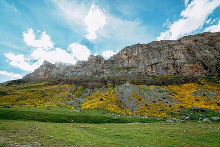 View of Circo de Soaso  Ordesa National Park  Aragon  Pyrenees