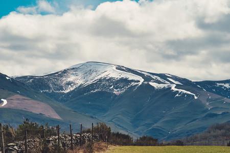snow on the summit