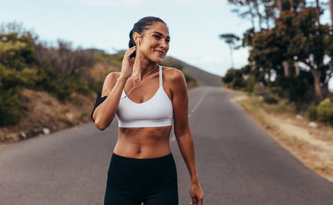 Fitness woman on morning workout