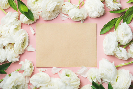 Saint Valentines Day frame or background copy space