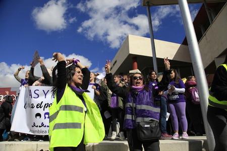 International Womens Day  in Rivas Vaciamadrid Spain