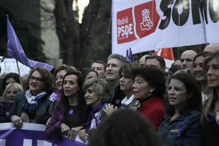 International womens day celebration in Madrid