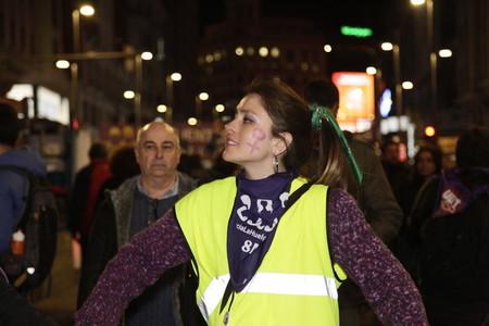 International womens day in Madrid  Spain