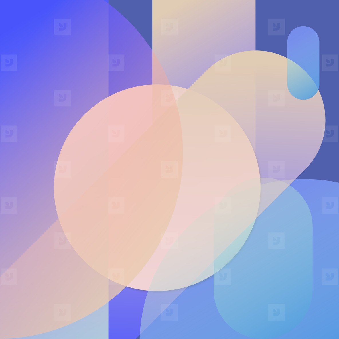 Colorful Geometric Background 08