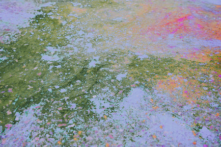 Abstract image with color dust