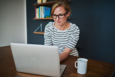 Woman starting business