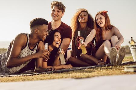 Weekend hangout of friends