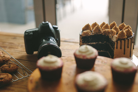 Food photography production